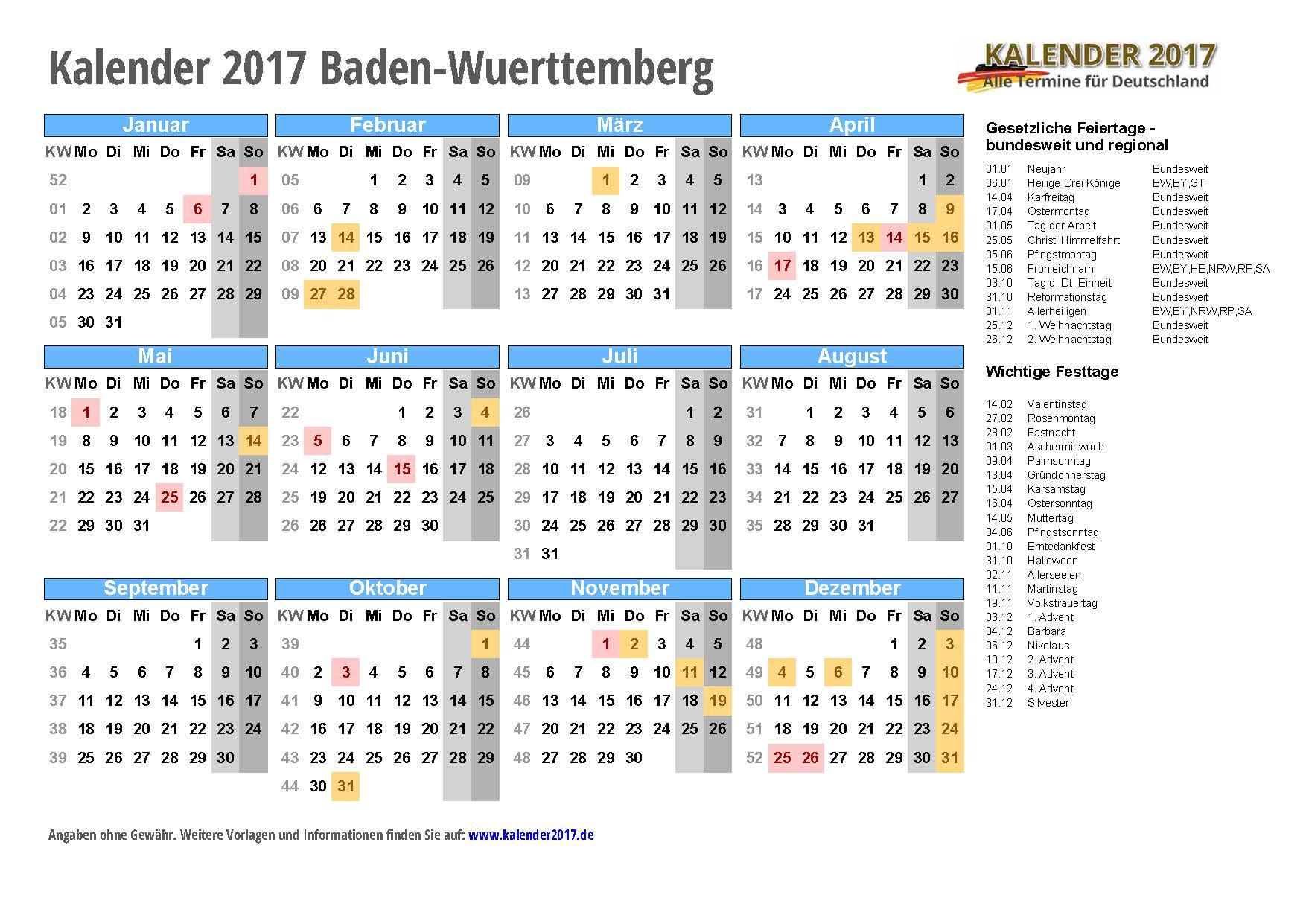 Kalender 2017 Deutschland Related Keywords & Suggestions - Kalender ...